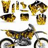 Graphics Kit Yamaha YZ125 YZ250 MX Dirt Bike YZ 125/250 Backgrounds 96-01 ICE Y