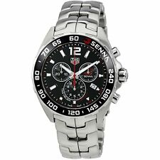 Tag Heuer Men's CAZ1015.BA0883 Senna Chronograph Stainless Steel Watch