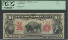 PCGS Currency Grade 15 $10 United States Large Size Notes