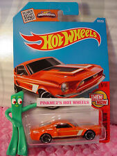 Case G/H 2016 i Hot Wheels '68 SHELBY GT500 #105✰Hemi Orange mc5✰Then and Now