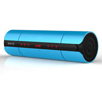 Portable Wireless Bluetooth Speaker NFC System Card Reader FM Radio / Blue