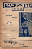 1901 Black & White Budget March 2-Strathcona's Horse; Kitchener's Scouts; Zulus
