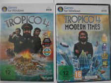 Tropico 4 Sammlung mit Modern Times - Diktator Strategie - Präsident in Karibik