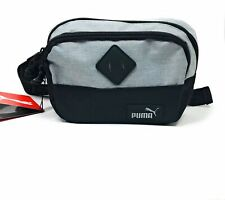 PUMA Fanny Pack Black Running Belt Hiking Waist Pouch Outdoors Camping NEW
