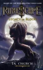 RuneScape: Legacy of Blood by T. S. Church (2012, Paperback)
