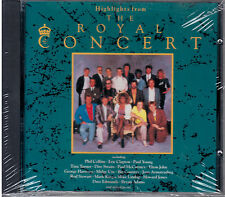 HIGHLIGHTS FROM THE ROYAL CONCERT: Phil Collins-Elton John-Eric Clapton CD MINT