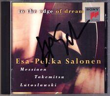 Firmato Salonen Takemitsu to the Edge of Dream John Williams Lutoslawski CD