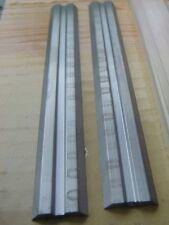 2 Lames,Fers Réversibles,130x16 x 3 mm,rabot électrique,raboteuse,Dégauchisseuse