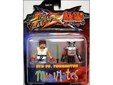 Diamond Select Street Fighter X Tekken Minimates Ryu vs Yoshimitsu #soct17-44