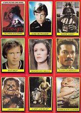 Star Wars - Jedi (ROTJ) Series 1 - Complete Card Set (132) - 1983 Topps - NM
