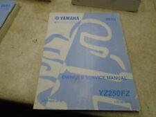 Yamaha 250 YZ YZ250-FZ Used Manual 2010 #SR-328