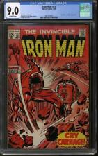 Iron Man #13 CGC 9.0 (OW) Controller and Nick Fury appearance