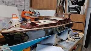 "Aphrodite Yacht Scale 1/18 1253mm 50"" DIY RC MODEL BOAT Wood model ship kit"