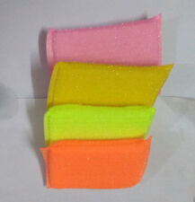 Multicolor Soft Sponge Scouring Pads Dish Bowl Kitchen Cleaning  Scrubber Pad12