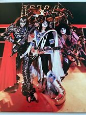KISS Vinyl LP PICTURE DISC Hotter Than Hell In Paris 1976  *MINT* Gene Simmons