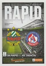 Orig.PRG   Europa League  2016/17   SK RAPID WIEN - FK AS TRENCIN  !!  SELTEN