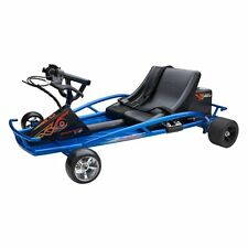 Razor Ground Force Drifter Electric Battery Powered Go Kart, Blue, 24 Volt