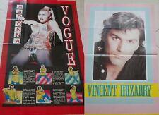 MADONNA _VOGUE Dance_vintage POSTER_originale anno 1990_cm 55x85