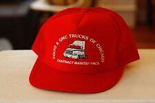 Rare VTG Volvo & GMC Trucks of Chicago Mesh Trucker Snapback Hat Cap