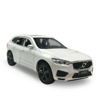 1/32 Scale XC60 SUV 2019 Model Car Diecast Gift Toy Vehicle White Pull Back Kids