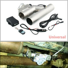 """1Set 3""""inch 76mm Exhaust Control E-Cut Out Valve Electric Y Pipe with Remote Kit"""