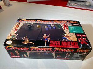 CAPCOM Fighter Power Stick   Super Nintendo Joystick   Never Used
