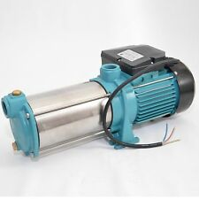 Kreiselpumpe Gartenpumpe MHI 1500 INOX 1500 Watt 5700 L/h - 8 bar Hauswasserwerk
