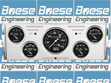 40 41 42 43 44 45 46 Chevy Truck Aluminum Gauge Panel Dash Insert Instrument