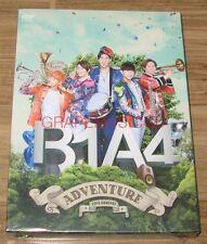 B1A4 2015 B1A4 ADVENTURE K-POP CONCERT DVD + 80P PHOTOBOOK + POSTER IN TUBE CASE