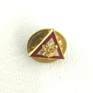 Vintage Moose Lodge FHC Triangle Pin