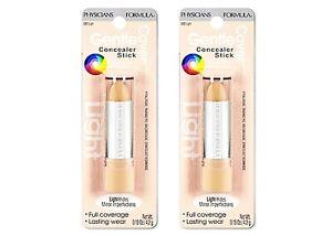 LOT OF 2 Physicians Formula Gentle Cover Concealer Stick Light (#682)