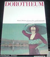 DOROTHEUM catalogo asta TABELLE MANIFESTI PUBBLICITARI e CINEMATOGRAFICI - 2007