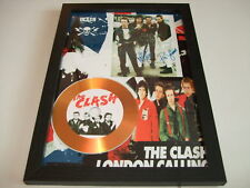 THE CLASH     SIGNED GOLD CD  DISC  4