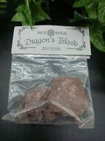 Dragons Blood Incense Resin Altar Spells Pagan Wiccan Witchcraft