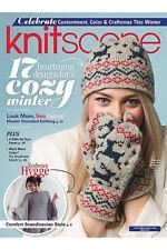 Knitting Magazine Interweave Knits Fall 2016 20th Anniversary Steeking