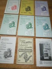 LOT 9 MIXED BULLETIN OF THE NATIONAL ASSOCIATION OF WATCH AND CLOCK COLLECTORS