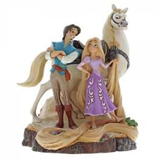 Disney Traditions 4059736 Live Your Dream (Carved By Heart Tangled) New & Boxed