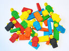 LEGO BLOCKS & LEGO MEN - EDIBLE CAKE TOPPERS - X 16 or 30 PIECES - AWESOME!!