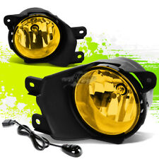 YELLOW CLEAR OE FOG LIGHT/LAMP PAIR+BEZEL COVER+SWITCH FOR 08-16 TOYOTA SEQUOIA