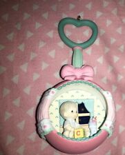 Precious Moments Ornament Holiday Expressions - Baby rattle - 1992 with No Box