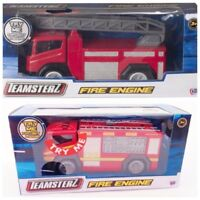Teamsterz Diecast Fire Engine with Ladders Flashing Lights & Sound Kids Toy New