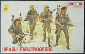 DML 1/35th Scale Israeli Paratroopers Figure Set No. 3001 in Open Box!!