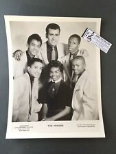 Original 1950s-60s 8 x 10 Publicity Photo Vocal Group Doo Wop R&R The Minors