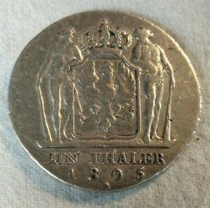 Preußen 1 Thaler 1805 A, Friedrich Wilhelm III, Silber