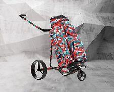 JuCad Camouflage - Der Elektrocaddy im trendigen Camouflage Neuheit!