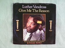 45 RPM Vinyl Luther Vandross Give Me The Reason (Ruthless People) & Nicole