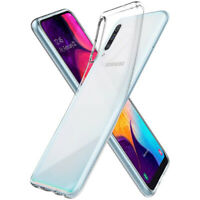 Samsung Galaxy A50 Liquid Hülle Durchsichtig Transparent Case Clear Cover