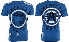 American Fighter Mens T-Shirt BRADLEY Eagle ROYAL BLUE Tattoo Biker S-3XL $40