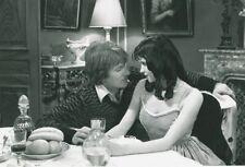 SEXY JEANNE GOUPIL ANDRE  DUSSOLLIER MARIE POUPEE  1976 VINTAGE PHOTO ORIGINAL