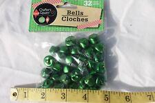 Craft Bells Frost Green Color Craft Supplies 15mm Bells 32pcs